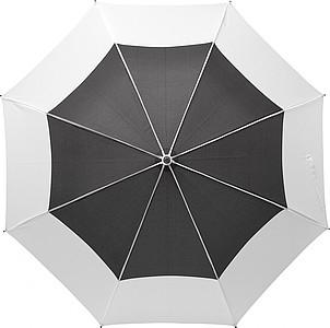 MARONDER Velký klasický deštní, pr. 122cm, černo bílý - pláštěnky