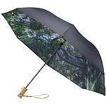 """Dvoudílný automatický deštník Norwich 30"""", černá/bílá"""