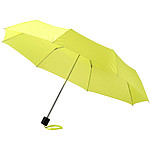 Automatický deštník s dřevěnou rukojetí a středem, průměr 106 cm, hnědá