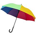 Větruodolný deštník s automatickým otevíráním, průměr 105 cm, černá