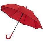 Větruodolný deštník s automatickým otvíráníma výrazným barevným kontrastem, průměr 102, červená
