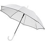 Větruodolný deštník s automatickým otvíráníma výrazným barevným kontrastem, průměr 102, bílá