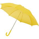 Dvoubarevný rovný deštník, průměr 108 cm, černá/bílá