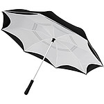Jednobarevný deštník z recyklovaného PET , průměr 102 cm, bílá