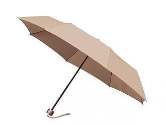 GRANADOS Skládací deštník, béžová - reklamní deštníky