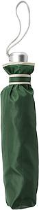 Skládací deštník, automatické otvírání i zavírání, průměr 96 cm, zelený - reklamní deštníky
