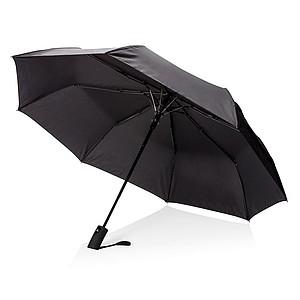 """21"""" skládací automatický deštník deluxe, černá"""