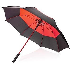 Automatický odolný deštník, průměr 123 cm, červená