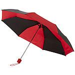 """Skládací automatický deštník Spark 21"""", černá/červená"""