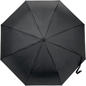 PRETORIUS Pánský automatický skládací deštník, pr. 104cm, černý - reklamní kancelářské potřeby