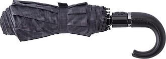 PRETORIUS Pánský automatický skládací deštník, pr. 104cm, černý
