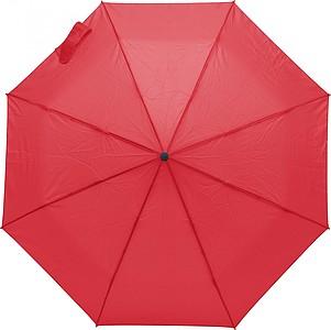 PERUSON Skládací automatický deštník, pr. 99cm, červený
