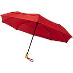 """Skládací deštník Luminous, 27"""", s automatickým otvíráním i zavíráním a s LED světlem, černá"""