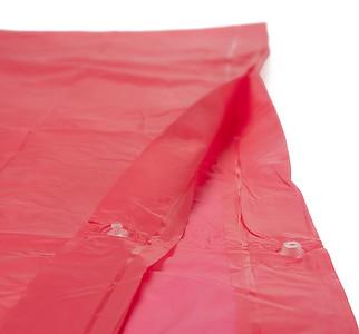 Pončo pláštěnka, červená