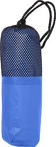 RAFAELO Pončo pláštěnka v obalu, materiál PEVA, modrá