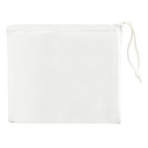 Skládací pláštěnka v sáčku, bílá