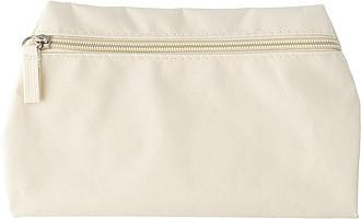 Polyesterová toaletní taška, béžová