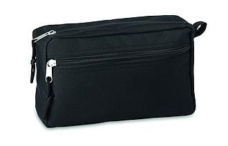 Kosmetická taška s boční kapsičkou na zip