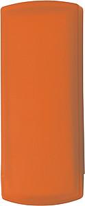PLASTER Náplast, 5ks v plastové krabičce, oranžová