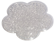 Chladící gelový polštářek, bílý