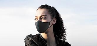 Sada ochranné roušky XD DESIGN, černá
