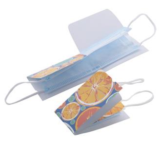 Papírová obálka pro masku s vlastním potiskem