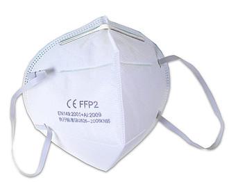 Respirátor pro ochranu dýchacího ústrojí tř. FFP2 ( KN95) baleno po 2 ks ručníky s potiskem