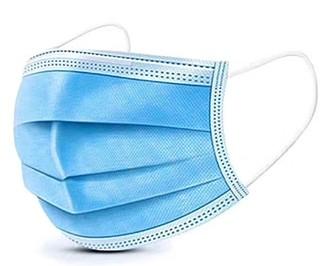Ochranná třívrstvá rouška medicínská, typ IIR, 50 ks v balení ručníky s potiskem