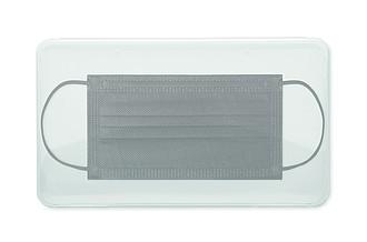 Sada 4 roušek v plastové krabičce, transparentní