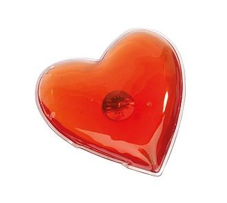 Hřejivý polštářek ve tvaru srdce