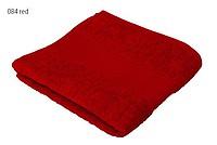 Economy ručník 50x100 cm, 100 % bavlna, 360 g/m2, červený