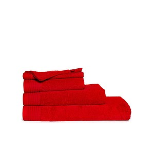 Klasický ručník ONE CLASSIC 50x100 cm, 450 gr/m2, barva červená