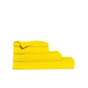 Klasický ručník ONE CLASSIC 50x100 cm, 450 gr/m2, barva žlutá