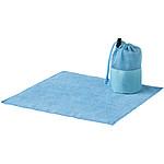 Malý sportovní ručník 30x30 cm, světle modrá