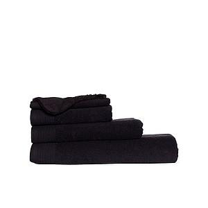 Klasický ručník WAMBIRI 70x140 cm, 450 gr/m2, černá