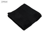 Classic ručník 50x100 cm, 100 % bavlna, 450 g/m2, černý