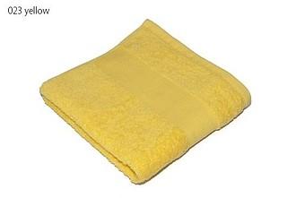 Classic osuška 70x140 cm, 100 % bavlna, 450 g/m2, žlutá