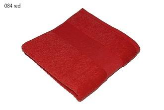 Classic osuška 70x140 cm, 100 % bavlna, 450 g/m2, červená