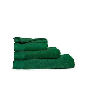 Malý ručník ONE CLASSIC 30x50 cm, 450 gr/m2, tmavě zelená