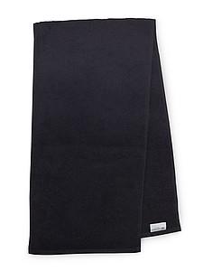 MASEWERA Sportovní ručník 30x130 cm 450 gr/m2, černá
