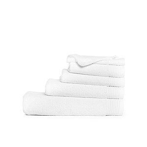 Plážový ručník DELUX 100x180 cm 550 gr/m2, bílá