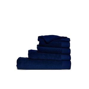 Ručník ONE DELUX 50x100 550 cm gr/m2, námořní modrá