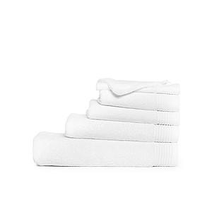 Ručník ONE DELUX 50x100 550 cm gr/m2, bílá ručníky s potiskem