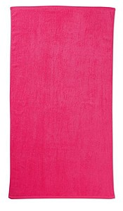 Plážová osuška 70x140 cm, růžová