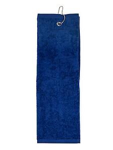 Golfový ručník 40x50 cm, 450 gr/m2, námořní modrá