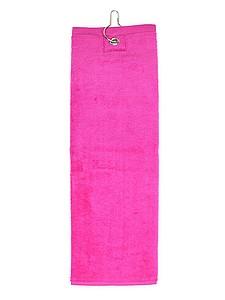 Golfový ručník 40x50 cm, 450 gr/m2, růžová