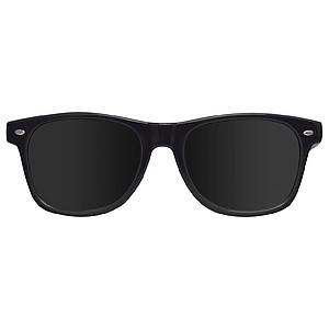 Plastové sluneční brýle s UV 400, černá