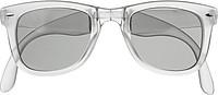 Skládací sluneční brýle s UV400, bílé
