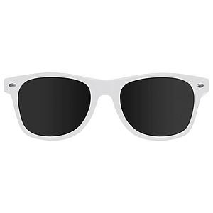 Plastové sluneční brýle s UV 400, bílá