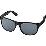 BYNAUS Plastové sluneční brýle, černá